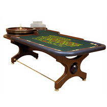 Our Roulette tables meet the highest requirements and standard of the industry.
