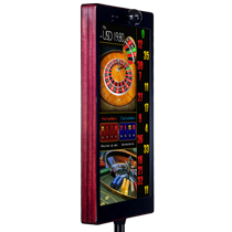 CYCLOPS-Slim is a casino roulette winning numbers display equipped with automatic video reader in slim housing.