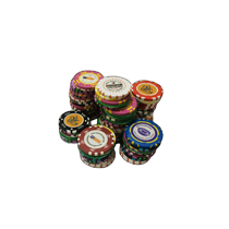 We offer wide range of professional casino chips (value chips, wheel checks and markers) produced by a patented mould injection technology.